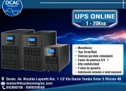 Equipos ups, instalaciones eléctricas