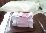 Oferta de préstamo de dinero
