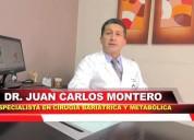 La cirugía bariátrica cura la diabetes.  quito