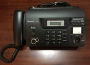 Teléfono fax panasonic kx-ft937