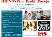 Regresiones hipnosis terapia pareja bloqueos miedo