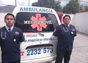 Ambulancia en quito servicio para esmeraldas