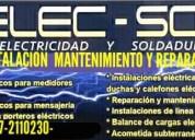 Servicio de instalaciÓn, mantenimiento y reparacio
