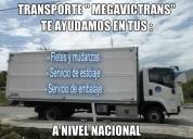camiones de alquiler desde 5 ton. para fletes
