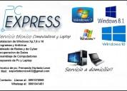 Soporte tecnico pc express computadora y laptop