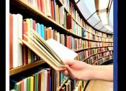 Desarrollo trabajos académicos tutores clases