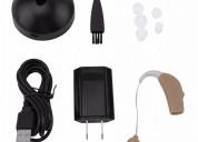 Amplificador sonido digital sordera detrás oreja r