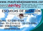 Escuela de aviación en ecuador