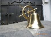 Venta de campanas de bronce con timón en el guayas