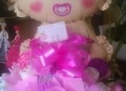 Regalo nacimiento baby shower flores arreglos bonches rosas
