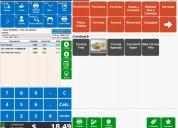 Software para restaurante pizzeria cafeteria  locales de comida - barcontrol el mejor