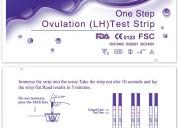 Test de ovulación y test de embarazo