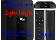 Tx9 quad core 2gb/16gb android 7.1.2 a 50