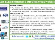 """Taller electrÓnico e informÁtico """"scsi-net"""""""