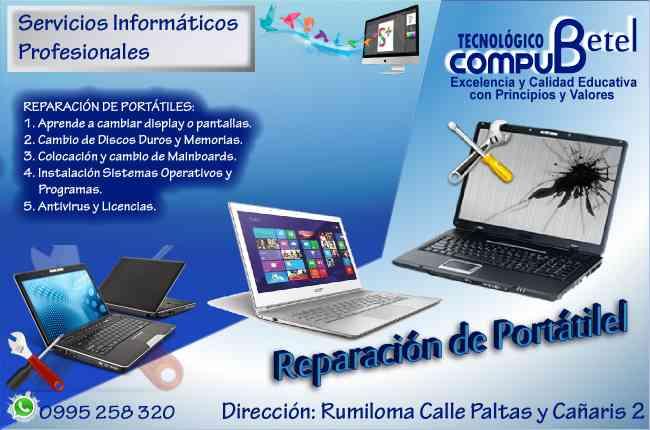 En Compu Betel te enseñamos como ensamblar y reparar computadoras