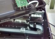 Reparación y reseteo de impresoras con sistema de tinta continua