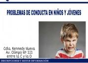 Problemas de conducta en niños y jóvenes
