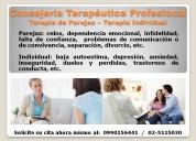 Consejeria psicolÓgica – terapias parejas e indivi