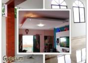 Pulido de pisos,  pintura y gypsum.