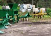 Maquinaria agrÍcola-equipo completo cultivo papas