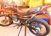 Vendo moto thunder trx200  2018