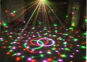 Alquiler tachos led laser luces led humo karaoke