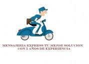 Servicios de mensajeria movilidad para tu empresa