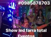 Show led guayaquil robots hora loca garotas y mimo