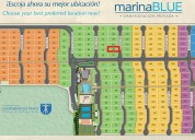 Hermoso terreno en marina blue