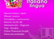 Habla el italiano!