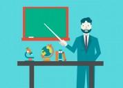 Profesores para centro de nivelaciÓn