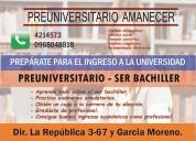 Preuniversitario examen ser bachiller 2019 cuenca