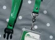 Cordones corporativos personalizados