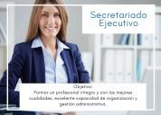 Curso de asistente ejecutivo y secretariado.