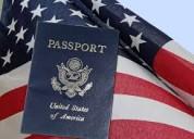 Ofrezco nacionalidad  norteamericana