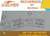 Diseño de artículos en acrílico en quito ecuador