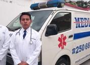 Asistencia medica al viajero medicomovil