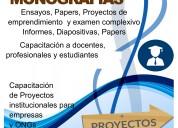 Asesoria de tesis proyectos y monografias