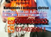 Ingeneria electrica, contactarse.