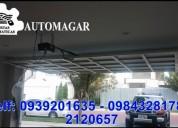 Motores para puertas de garaje ventas e instalacion de motores para garaje