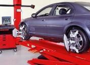 Tecnico alineador y balanceador de auto