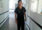 Busco empleo como enfermero privado en quito
