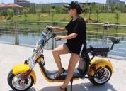 Atencion manta busco distribuidor para la venta de scooter electrica tipo harley en quito