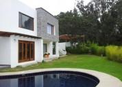 Casa arriendo urbanizacion prados de tanda 4 dormitorios piscina cumbaya en quito