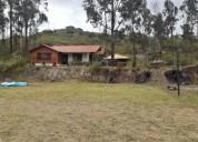 Deleg propiedad amoblada con 5000 metros de terreno 3 dormitorios