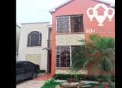 Casa para arrendar en urb san patricio machala 4 dormitorios