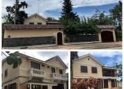 Casa de dos pisos para alquilar en tillales el guabo 5 dormitorios