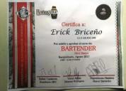 Busco trabajo de bartender en cuenca