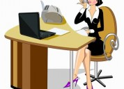 Office employees  (femenina)  /recepcionistas