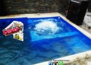 Hacemos piscinas en manta, constactarse.